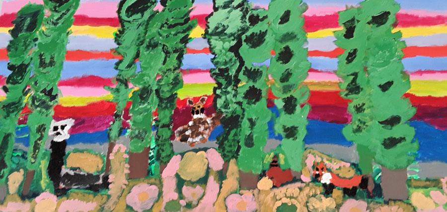 Forest by Cynthia Barteski
