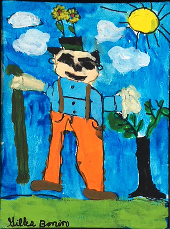 painting of the gardener