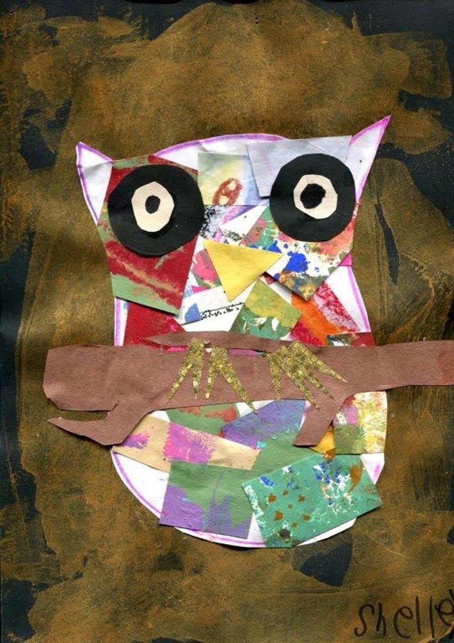 Painting - Midnight Owl