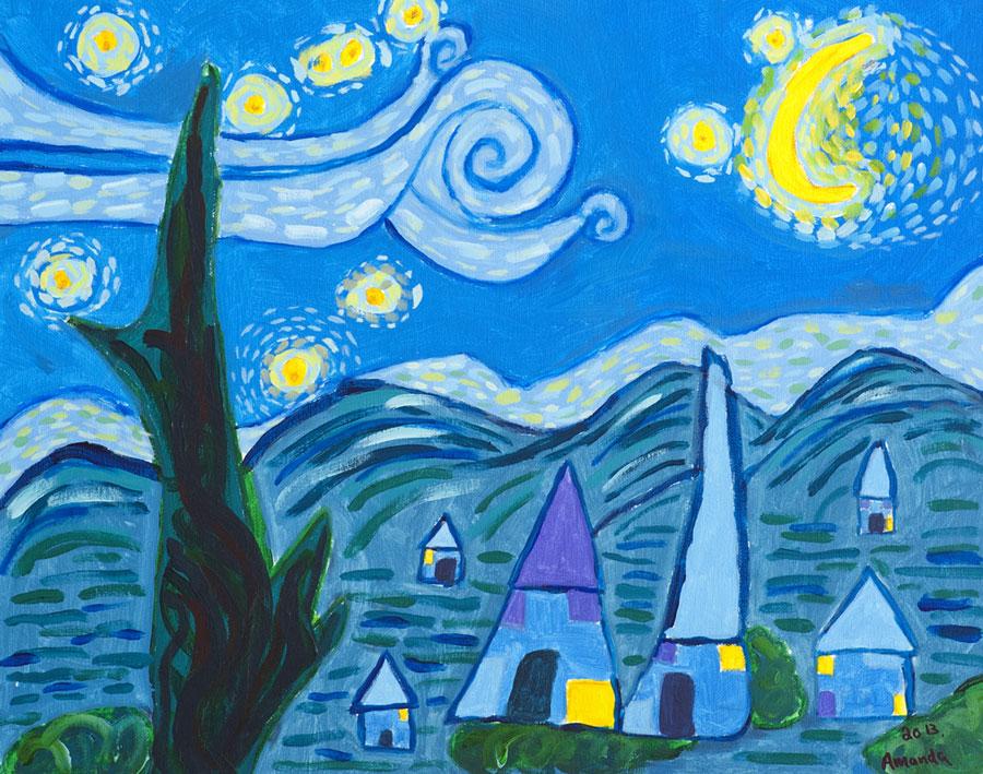 Starry Night by Amanda Winnington-Ingram